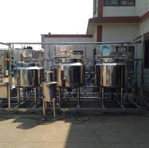 Lab Liquid Syrup Manufacturing Plant