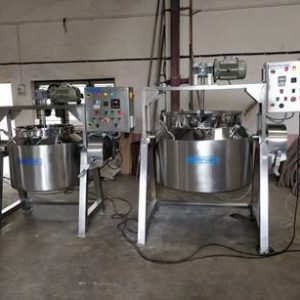 Starch Paste Preparation Kettle