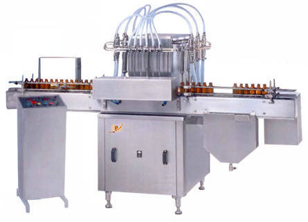 Six Head Volumetric Filling Machine