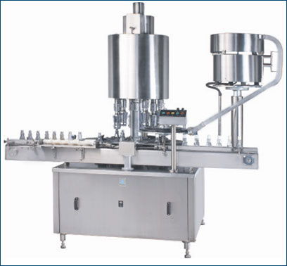Automatic ROPP Cap Sealing Machine - Single Head