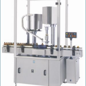 Automatic Screw Cap Sealing Machine - Single Head