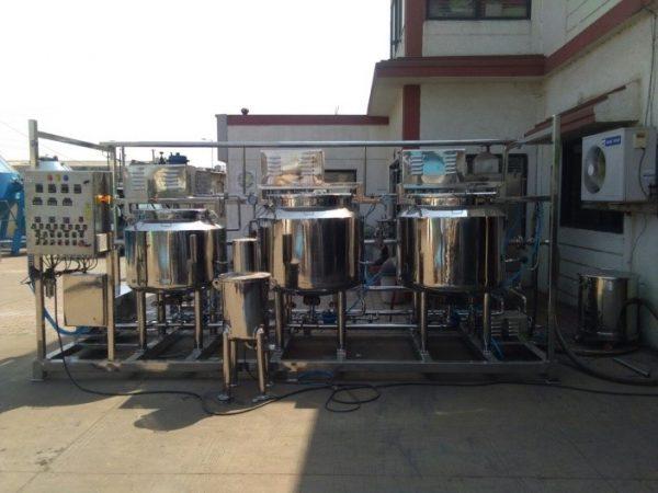 Bin CIP-WIP Washing System