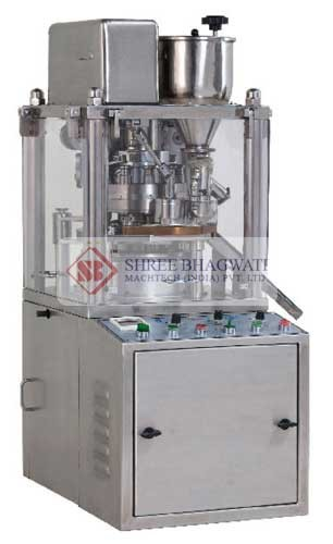 Lab Scale Mini Tablet Press - No Of Station 8, 10, 12