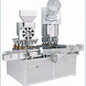 Monoblock -Rotary Dry Syrup Powder Filling & Sealing Machine