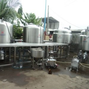 Preparation Vessel & Liquid Syrup Manufacturing Plant