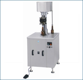 Semi Automatic ROPP Cap Sealing Machine - Single Head