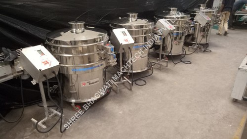 Sieving Machine – Liquid Mixing Plant